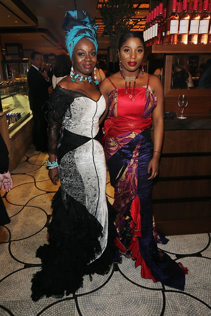 Hadar Busia Singleton (L) and actress Akosua Busia attend the after party for the 2016 Tony Awards Gala  | Getty Images