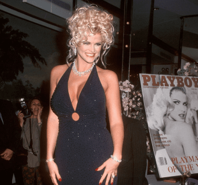 Cocktail Party introducing Playboy's 1993 Playmate of the Year Anna Nicole Smith | Source: Getty Images