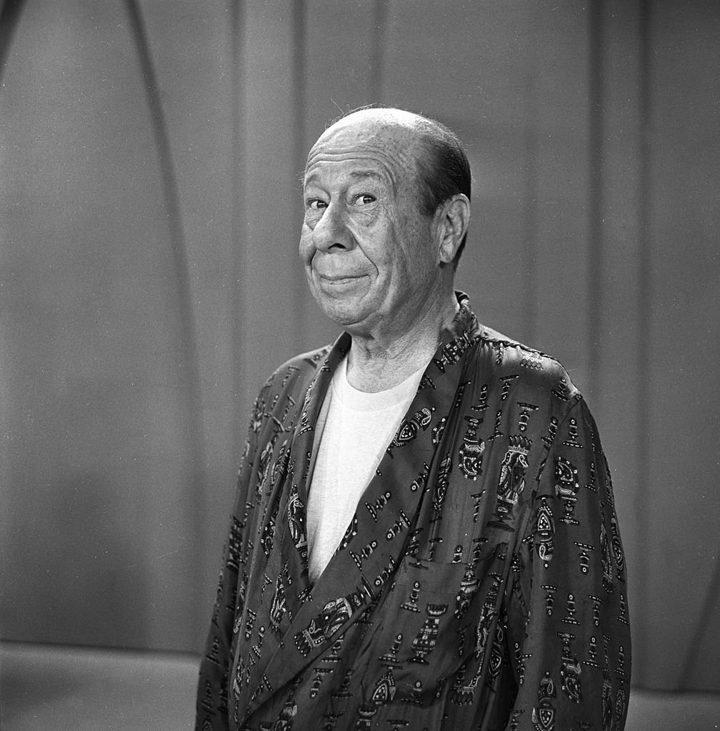"""Late Bert Lahr at """"THE ED SULLIVAN SHOW"""" On March 14, 1965   Photo: Getty Images"""
