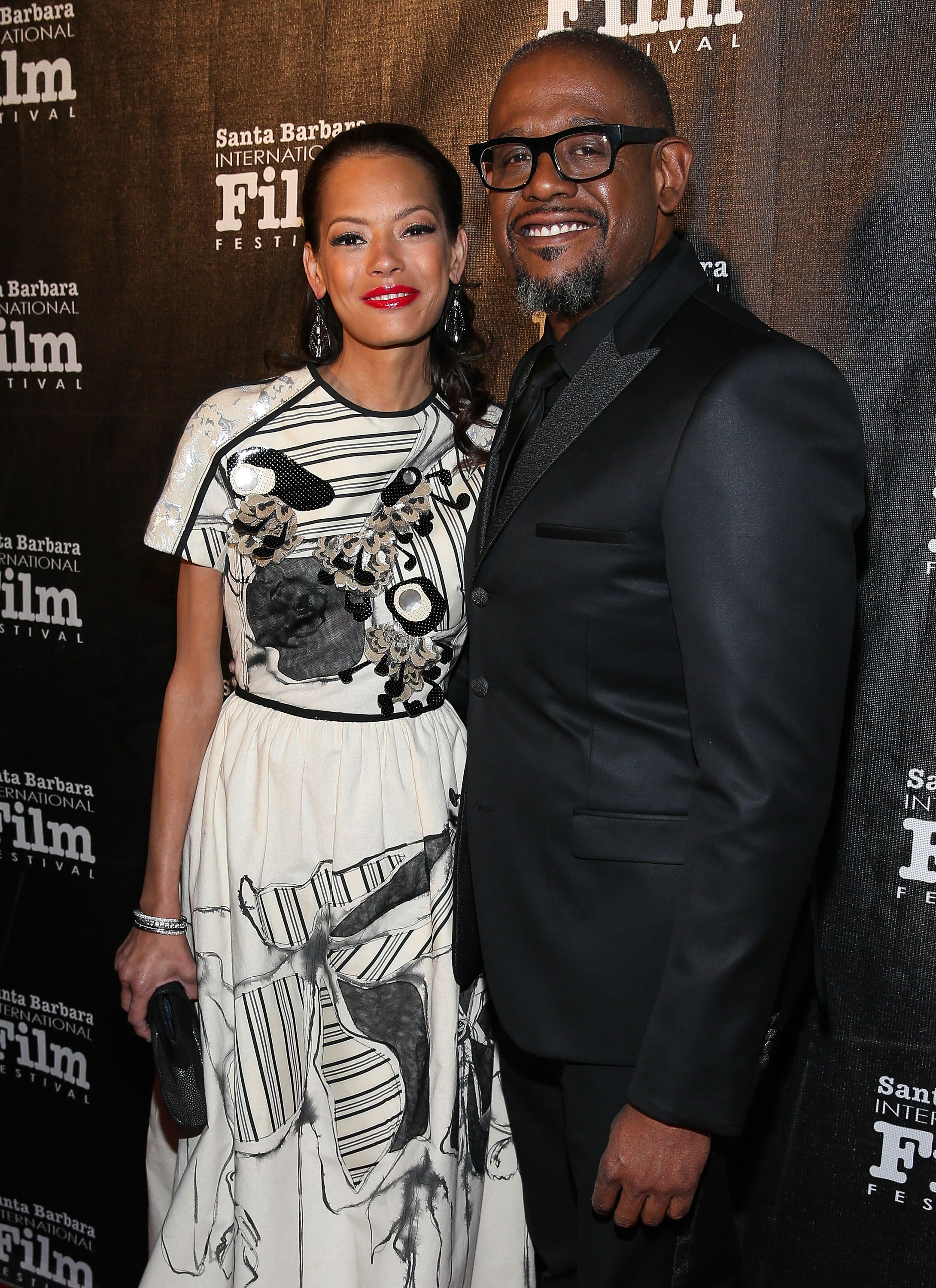 Keisha Nash Whitaker and Forest Whitaker attend the 8th Annual Kirk Douglas Award For Excellence In Film Gala on January 5, 2014. | Photo: Getty Images