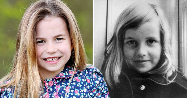 Twitter Users Compare New Photo of Princess Charlotte with Childhood Photos of Princess Diana