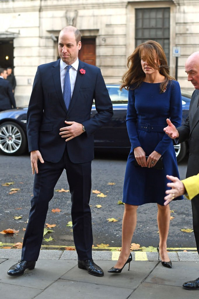 Prince William and Kate Middleton attend the launch of the National Emergencies Trust in London, England on November 7, 2019 | Photo: Getty Images