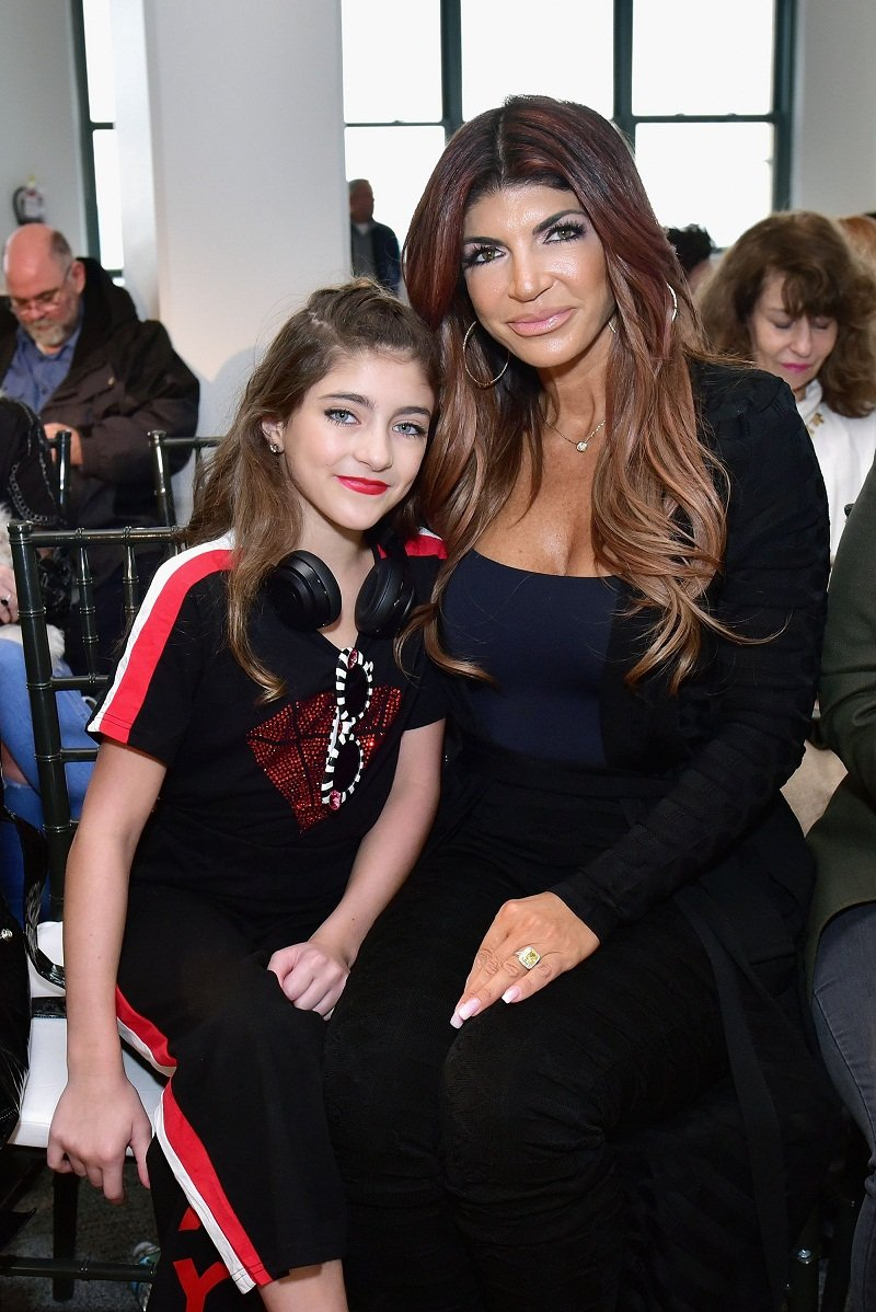 Audriana and Teresa Giudice attending New York Fashion Week  in New York City, in February 2019. | Image: Getty Images.