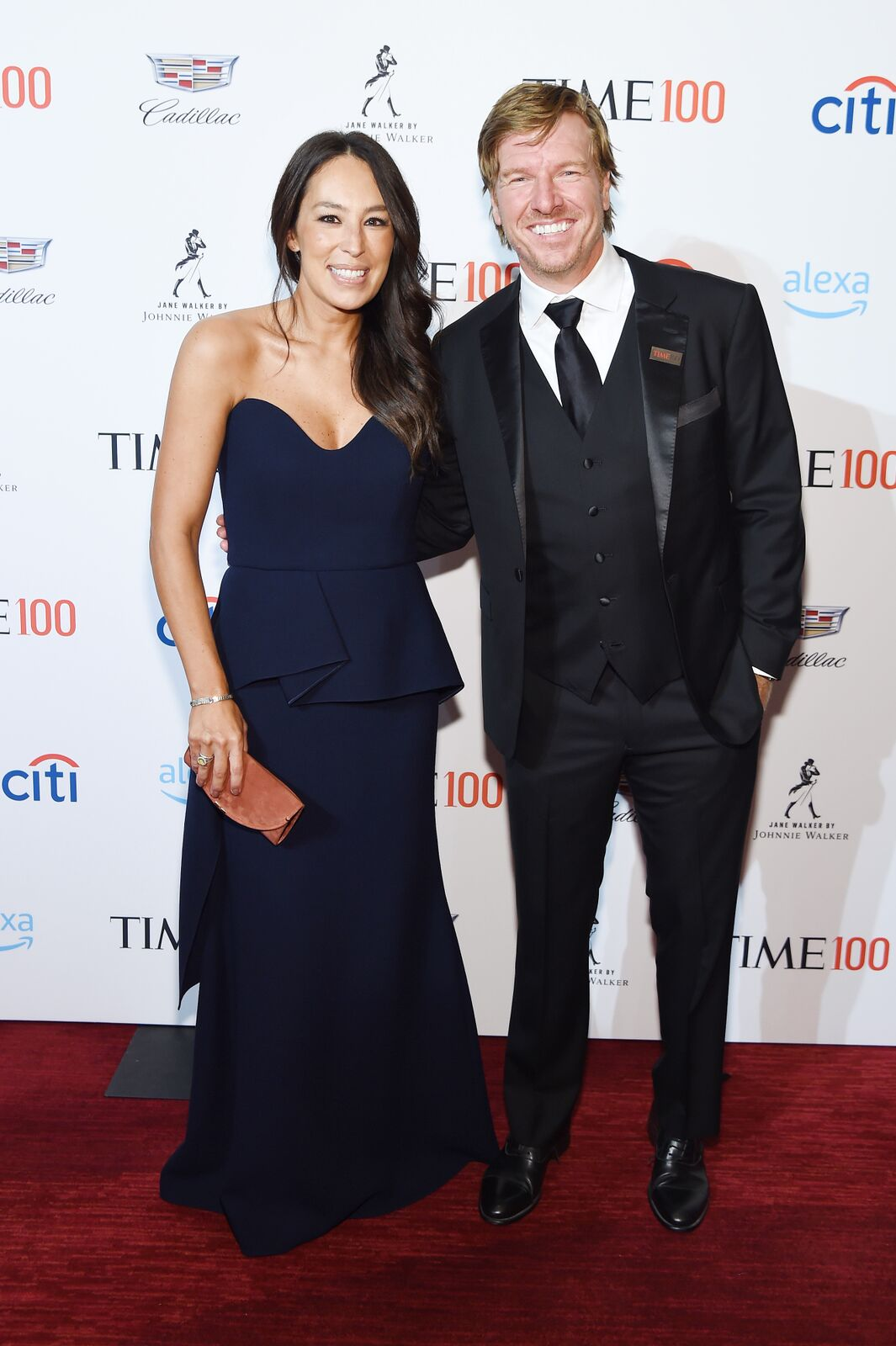 Joanna Gaines and Chip Gaines attend the TIME 100 Gala 2019 Cocktails at Jazz at Lincoln Center on April 23, 2019 in New York City | Photo: Getty Images