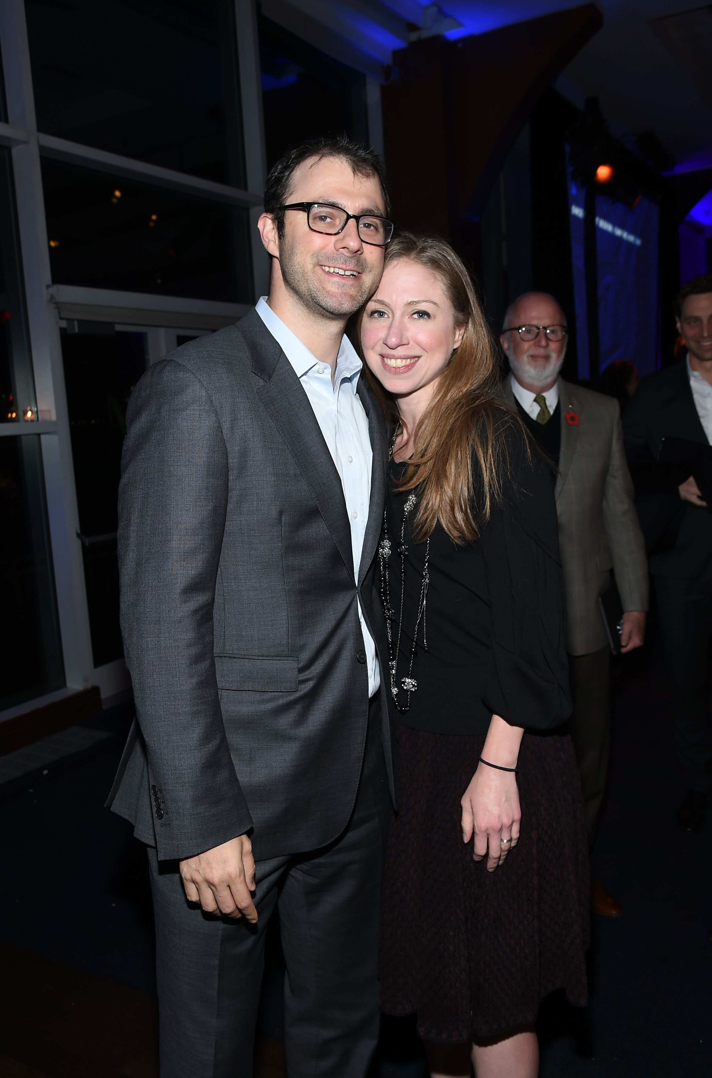 Chelsea Clinton and Marc Mezvinsky attend the Headstrong Gala 2017.   Photo: Getty Images