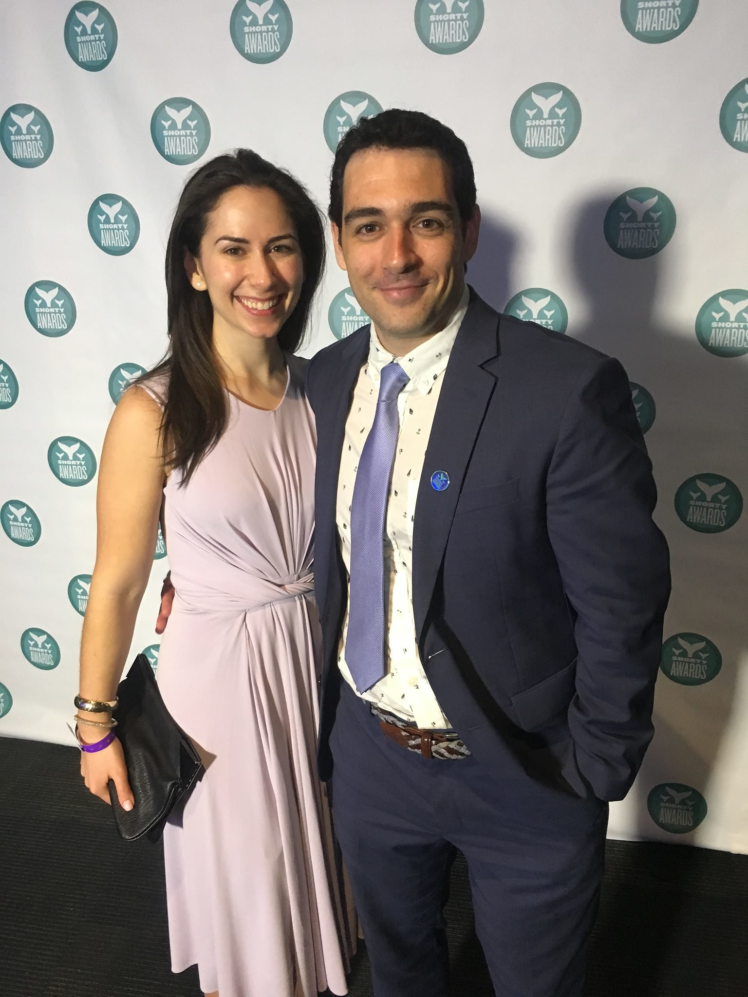Rachel Louise Ensign and Andrew Kaczynski at the Shorty Awards onJune 4, 2017 | Photo: Flickr/Some Brooklynguy