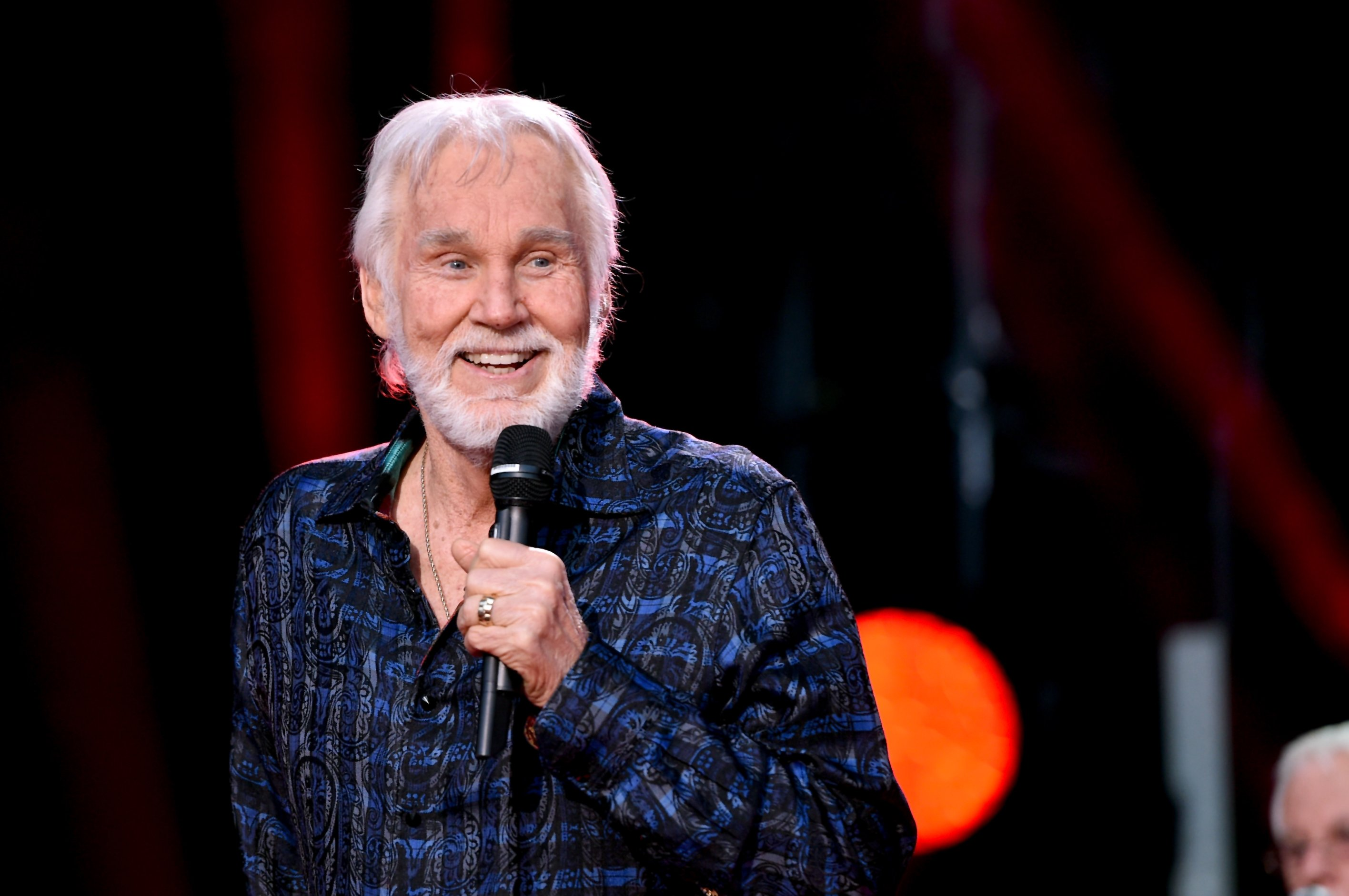 Kenny Rogers performs during the 2017 CMA Music Festival on June 8, 2017, in Nashville, Tennessee.   Source: Getty Images.