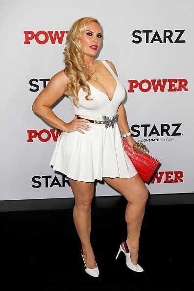 "Coco Austin attends the ""Power"" final season world premiere at The Hulu Theater at Madison Square Garden in New York City. 