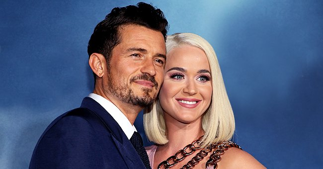 Heavily Pregnant Katy Perry Jokes She'll Be the Bad Cop to Her Daughter with Orlando Bloom