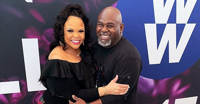 Tamela Mann from 'Mann & Wife' Flaunts Slimmer Curves in Black Top & Floral Skirt in New Romantic Pic with Husband David