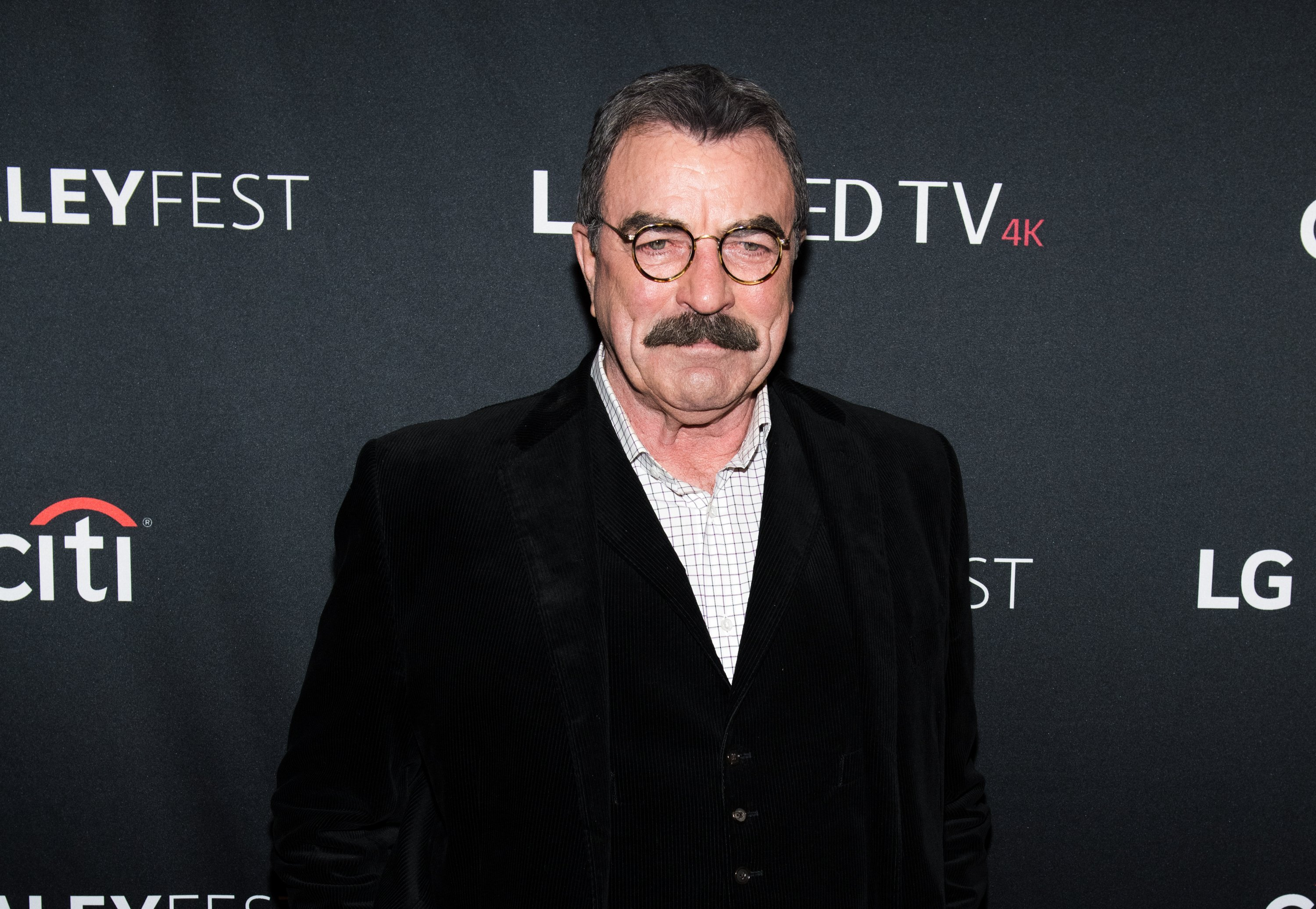 "Tom Selleck attends the ""Blue Bloods"" screening during PaleyFest NY 2017 at The Paley Center for Media on October 16, 2017 