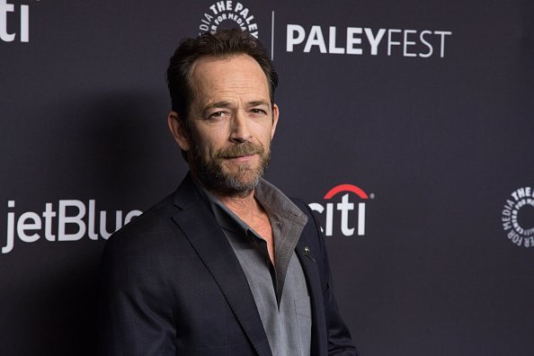 Luke Perry arrives for the 2018 PaleyFest Los Angeles   Photo: Getty Images