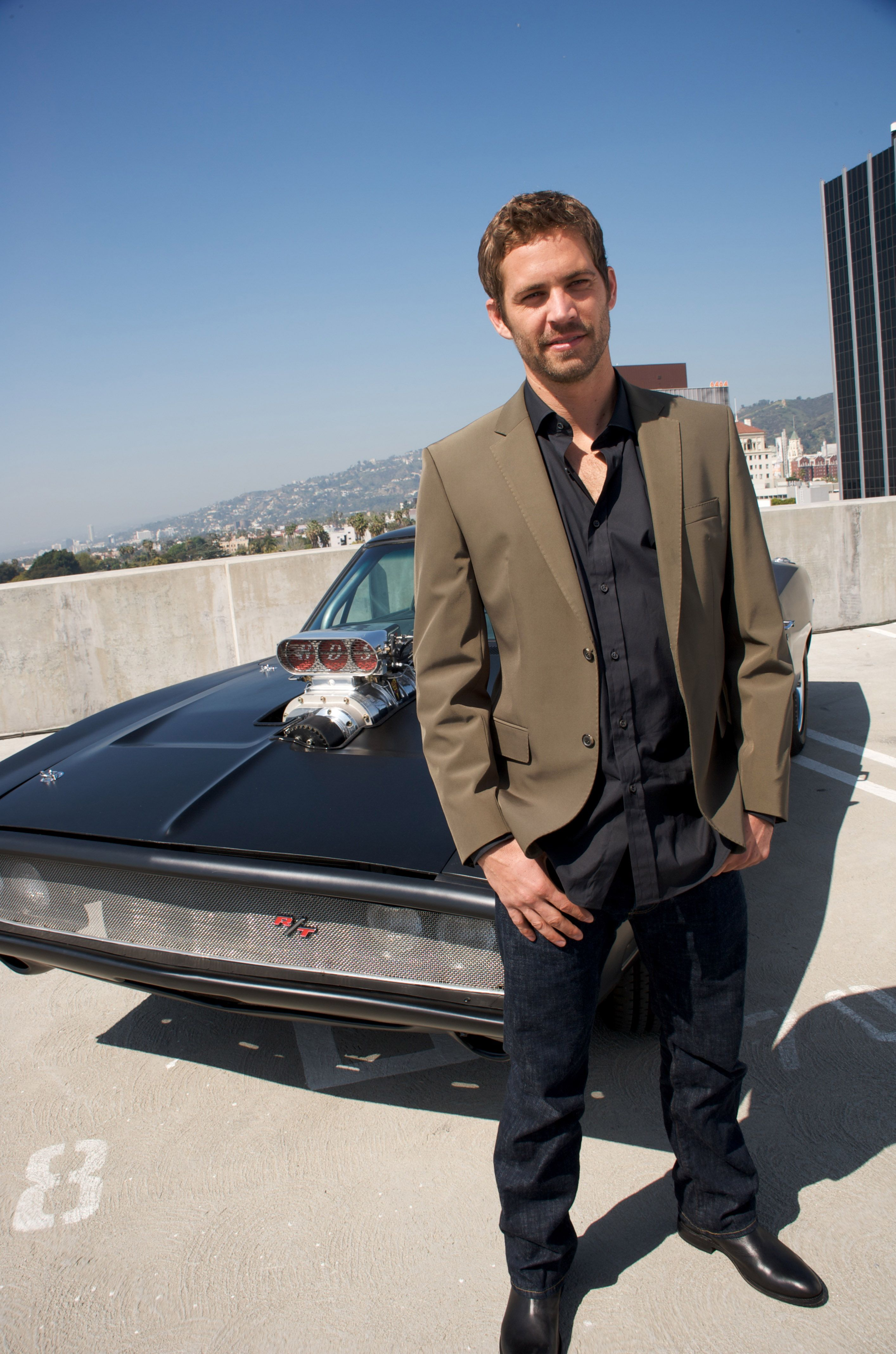 """Paul Walker at the """"Fast & Furious"""" press conference on March 13, 2009, in Hollywood, California 