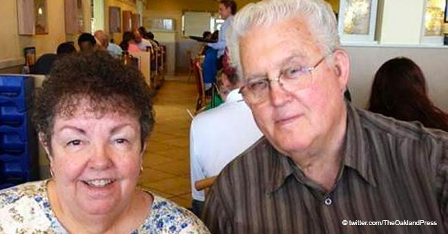 Ewige Liebe: Ein Paar, das 56 Jahre lang zusammen war, starb, während es Hände hielt