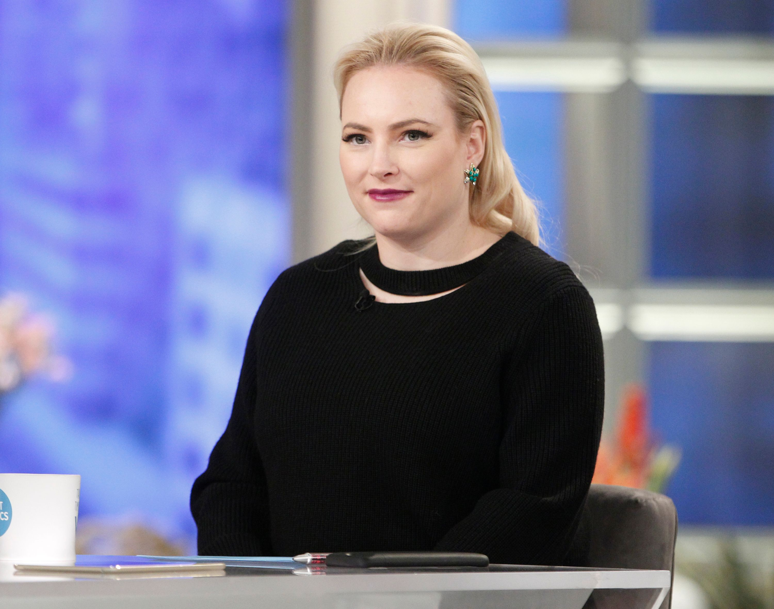 """Meghan McCain on season 21 of ABC's """"The View"""" on January 8, 2018 