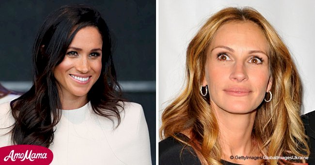 Julia Roberts is 'floating' after discovering she inspired Meghan Markle to start her career
