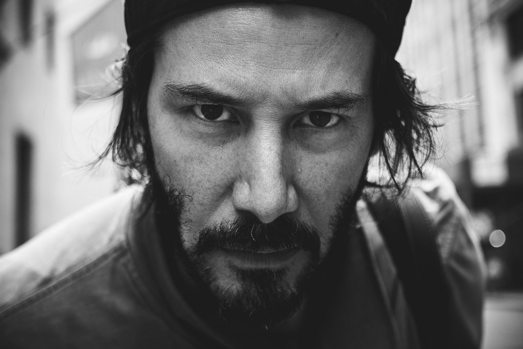 Keanu Reeves l Photo: Staticflickr