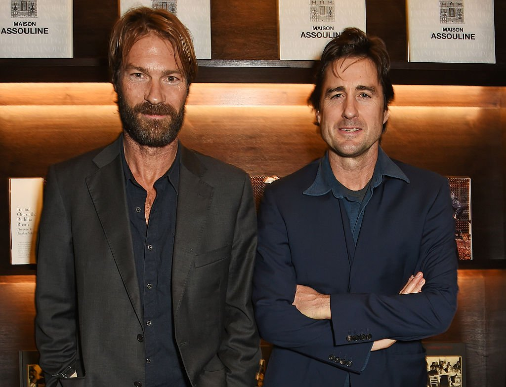 """Andrew Wilson (L) and Luke Wilson attend the launch of """"The Night Before BAFTA"""" by Charles Finch at Maison Assouline on February 3, 2016 