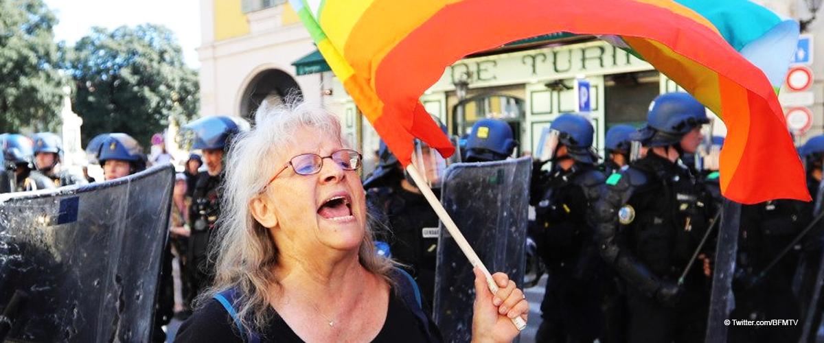 "Geneviève Legay : Macron, ""il nous méprise"""