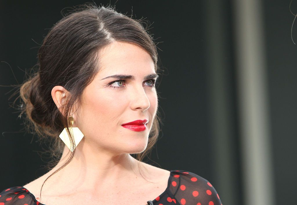 Karla Souza at Westfield Century City on February 19, 2015 in Los Angeles, California. | Source: Getty Images