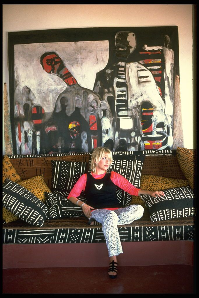 L'inoubliable France Gall dans sa maison de Ngor. l Source : Getty Images