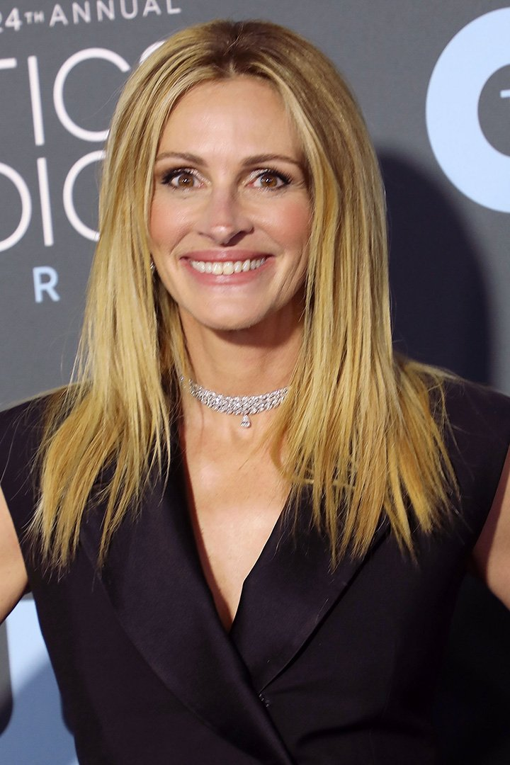 Actress Julia Roberts attending the 24th Annual Critics' Choice Awards in Santa Monica, California in 2019. I Image: Getty Images.