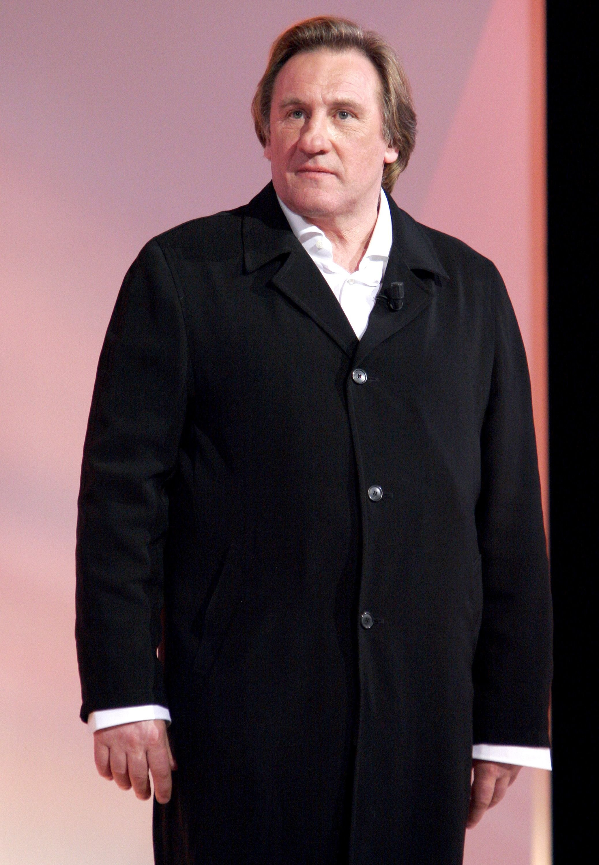 L'incontournable Gérard Depardieu. l Source : Getty Images