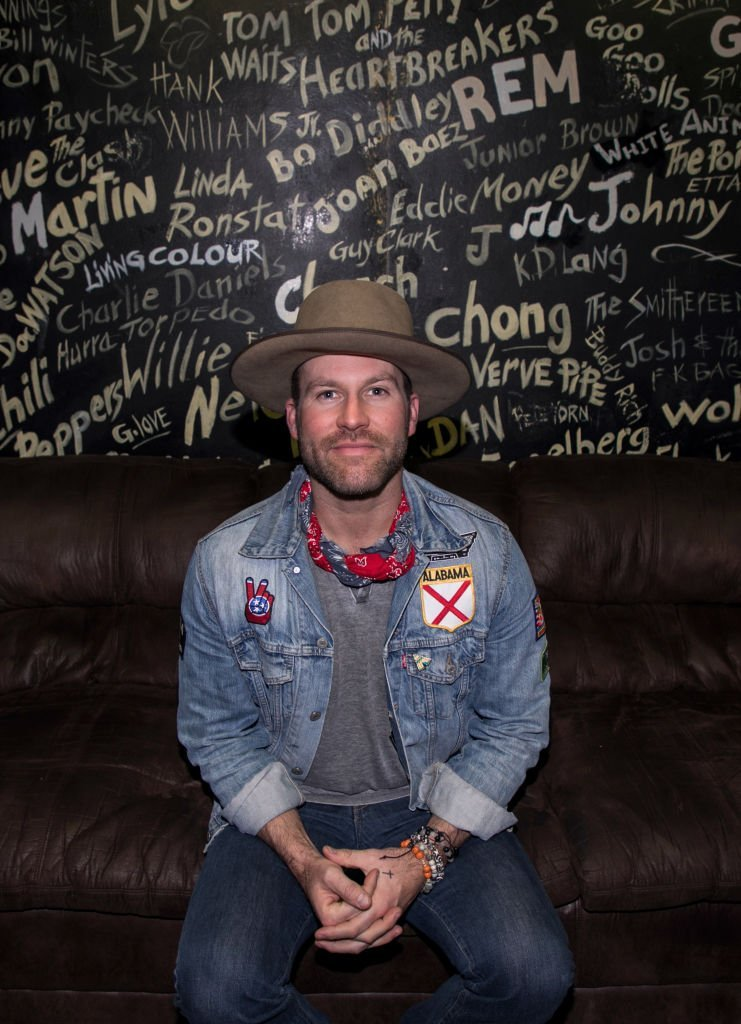Drake White takes photos backstage at Exit In | Getty Images