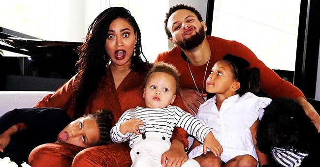 Steph Curry's Wife Ayesha Shares Video & Photo of Her Family Working out at Home Amid Coronavirus Outbreak