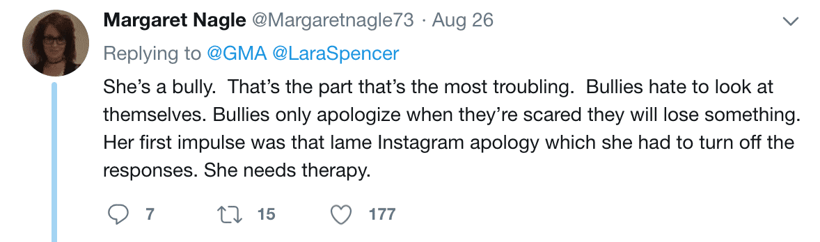 Fans react to Lara Spencer's apology for mocking Price George's ballet lessons | Source: twitter.com/GMA