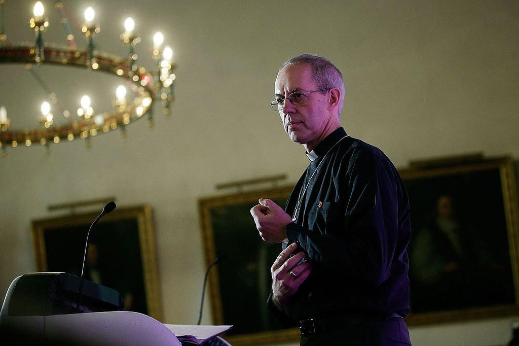 The former Bishop of Durham, the Rt Rev Justin Welby, speaks during a press conference after the confirmation of his appointment as the Archbishop of Canterbury | Photo: Getty Images