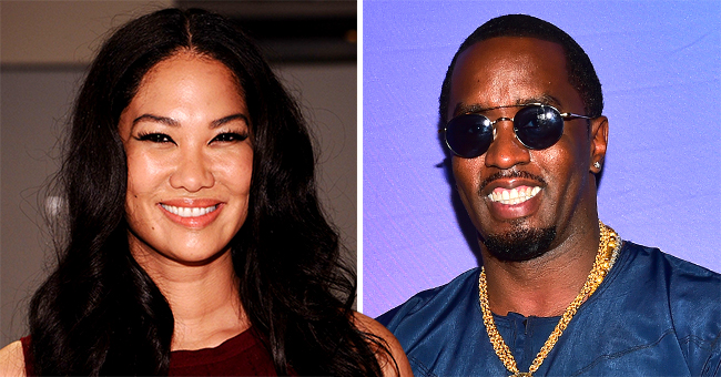 Kimora Lee Simmons and Diddy Take Their Children to a Pumpkin Patch