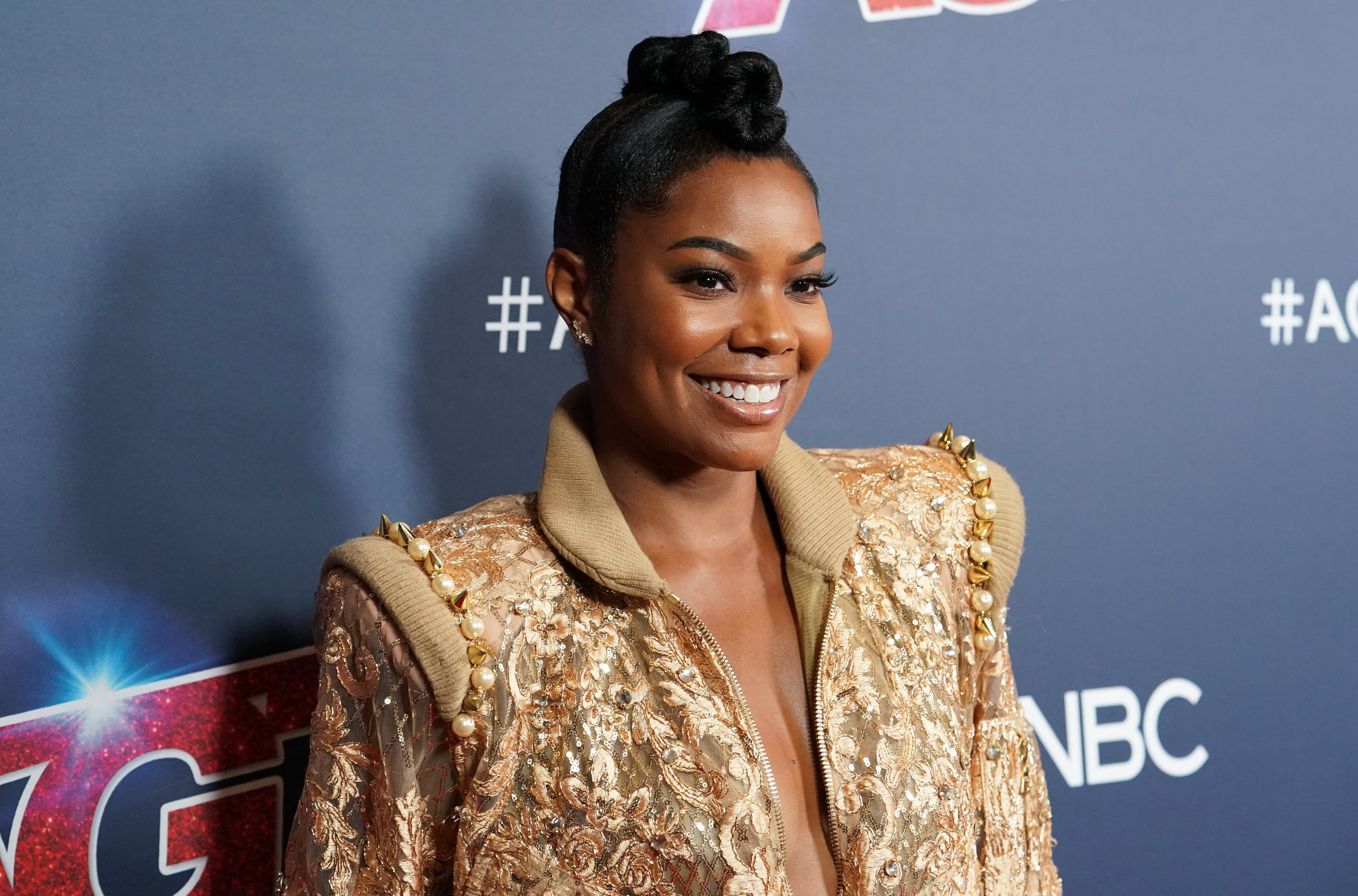 "Gabrielle Union attends ""America's Got Talent"" Season 14 Live Show Red Carpet at Dolby Theatre on September 03, 2019, in Hollywood, California 