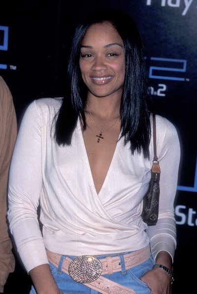 Arnelle Simpson attends Sony Computer Entertainment America party on May 15, 2001 | Photo: Getty Images