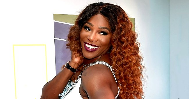 Serena Williams' Daughter Looks Adorable Smiling with Her Dad as They Use Dog Filters in a Pic