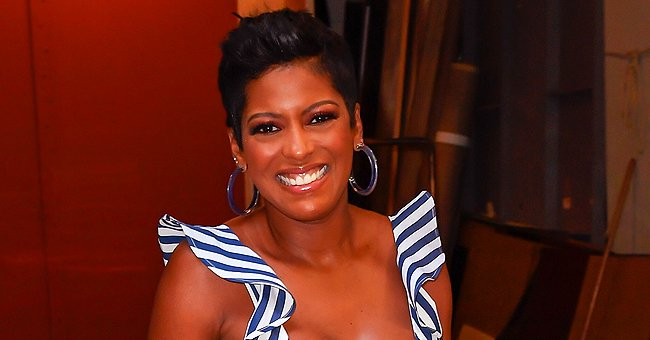 Tamron Hall Makes Her Baby Son Moses Laugh in an Adorable Video