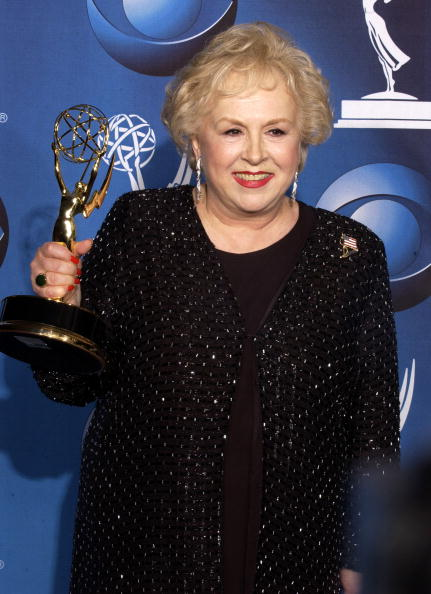 Doris Roberts at the 53rd Annual Primetime Emmy Awards. | Photo: Getty Images