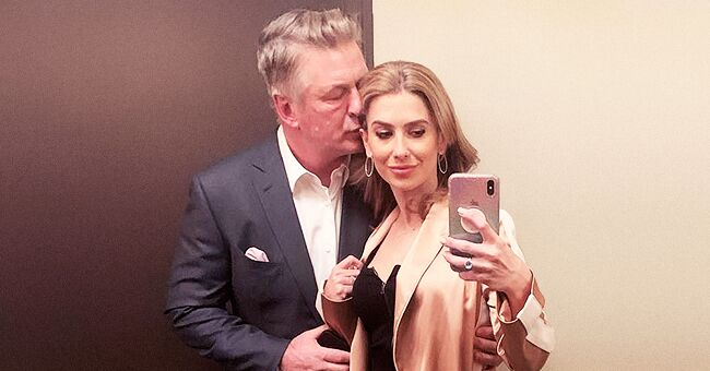 Hilaria Baldwin Finally Shares a Complete Family Photo with Alec Making a 'Goofy Face'