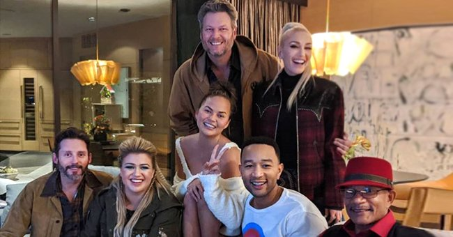 Chrissy Teigen Gets Mad at John Legend for Inviting 'Voice' Cast to Finale Dinner at Their Home without Warning Her