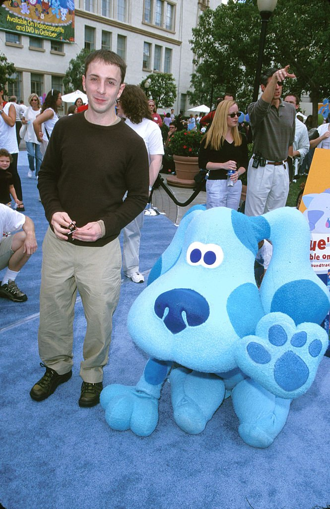 """Steve Burns at """"Blue's Big Musical Movie"""" Premiere in Los Angeles, California, United States in September 2000. 