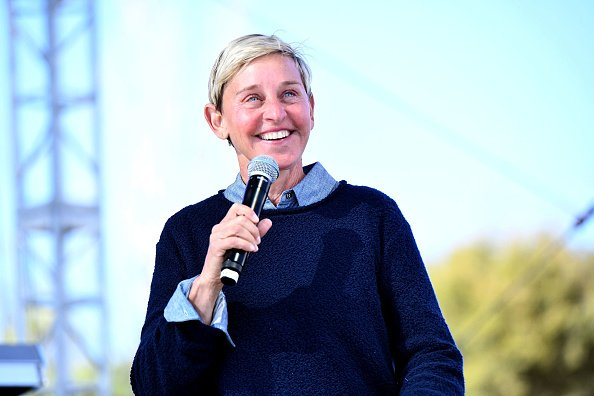 Ellen DeGeneres en Bella Vista Ranch & Polo Club el 25 de febrero de 2018 en Carpinteria, California | Foto: Getty Images