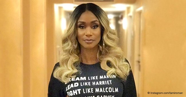Tami Roman gains more love from fans after donning sweater with Black History Month message