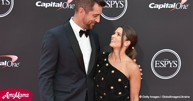 Danica Patrick and Aaron Rodgers stun on the red carpet at ESPY Award debut