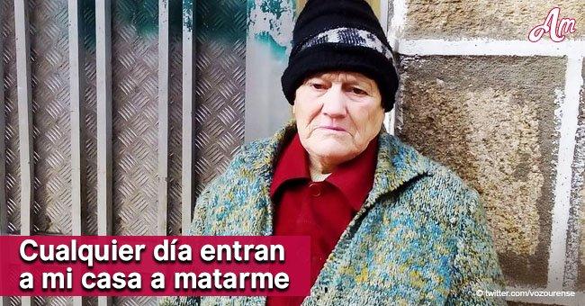Mujer anciana amenazada de muerte por jóvenes muere un año después en su hogar en Verín