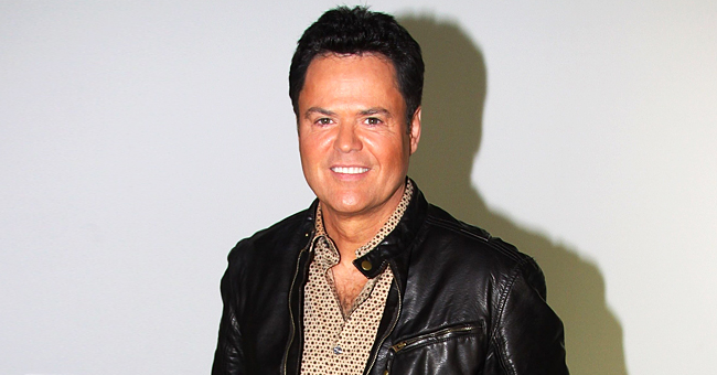 Donny Osmond Poses with a Fan That Has His Face Tattooed on Her Shoulder in a Rare Photo
