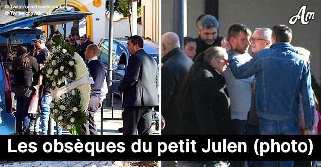 La mort du petit Julen, 2 ans : les photos des funérailles surpeuplées sont dévoilées
