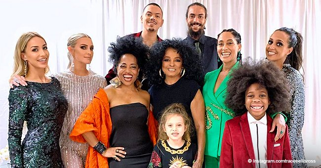 Diana Ross poses with her children and grandkids in heartwarming picture after 2019 Grammys