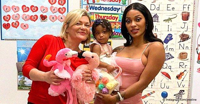 Joseline Hernandez slammed for wearing revealing outfit to daughter Bonnie Bella's school
