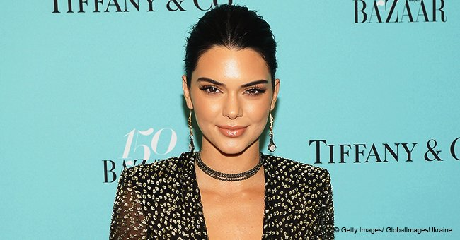 Kendall Jenner shows off her long legs in high-waisted jeans amid rumors about her pregnancy