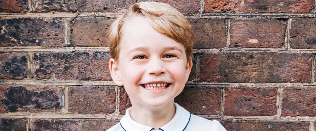 Pour la première fois, Kate Middleton prend les photos d'anniversaire du Prince George